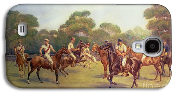 The Polo Match Galaxy S4 Case by C M  Gonne
