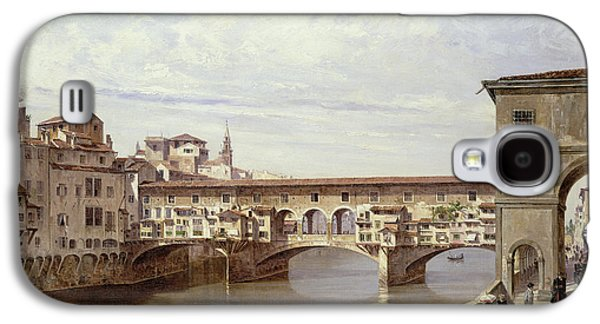 The Pontevecchio - Florence  Galaxy S4 Case by Antonietta Brandeis