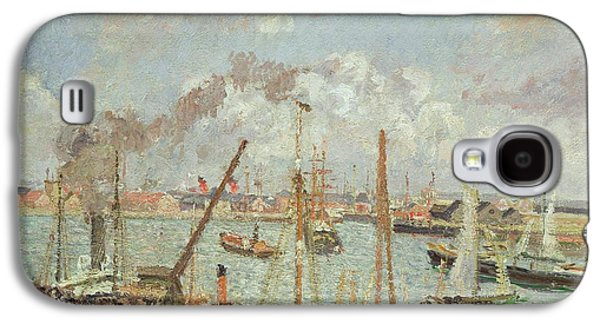 The Port Of Le Havre In The Afternoon Sun Galaxy S4 Case by Camille Pissarro