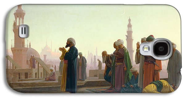 The Prayer Galaxy S4 Case by Jean Leon Gerome