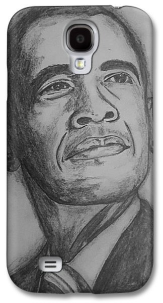 The President  Galaxy S4 Case by Collin A Clarke