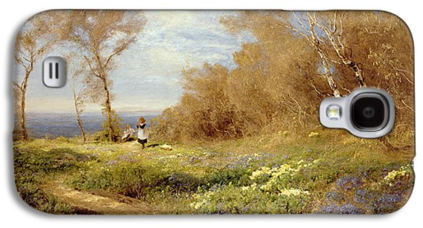 The Primrose Gatherers Galaxy S4 Case by John Clayton Adams