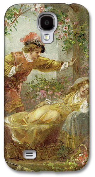 The Prince Finds The Sleeping Beauty Galaxy S4 Case by English School