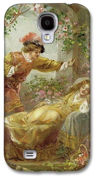 The Prince Finds The Sleeping Beauty Galaxy S4 Case
