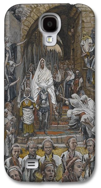The Procession In The Streets Of Jerusalem Galaxy S4 Case by Tissot