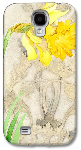 The Promise Of Spring - Daffodil Galaxy S4 Case by Audrey Jeanne Roberts
