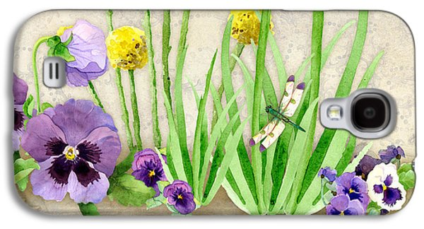 The Promise Of Spring - Dragonfly Galaxy S4 Case by Audrey Jeanne Roberts