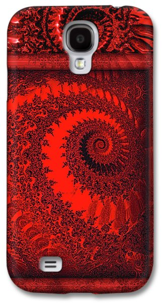 The Proper Victorian In Red  Galaxy S4 Case