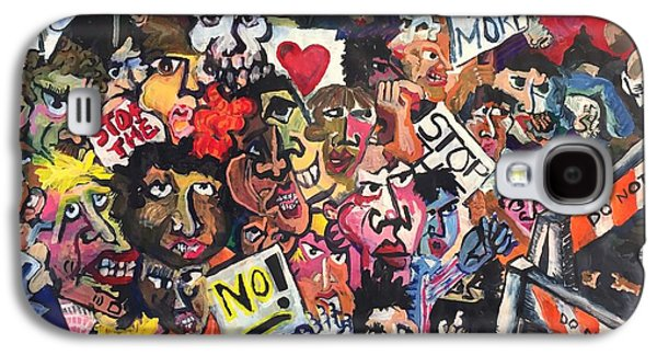 The Protest  Galaxy S4 Case by Jame Hayes