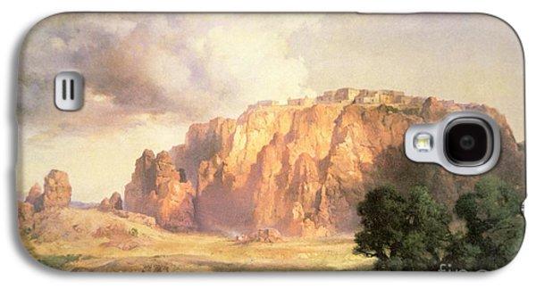 The Pueblo Of Acoma In New Mexico Galaxy S4 Case by Thomas Moran