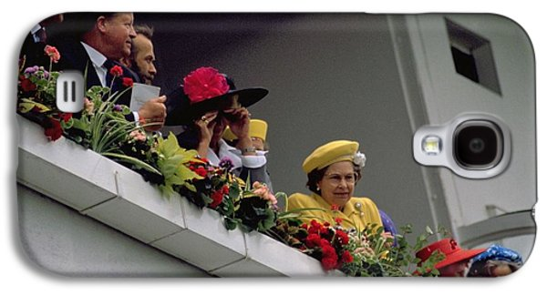 The Queen At Derby Day 1988 Galaxy S4 Case