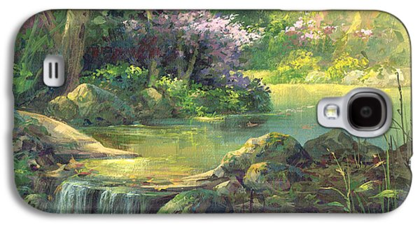 The Quiet Creek Galaxy S4 Case by Michael Humphries