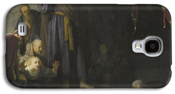 The Raising Of Lazarus Galaxy S4 Case by Rembrandt