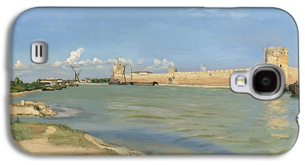 The Ramparts At Aigues Mortes Galaxy S4 Case by Jean Frederic Bazille