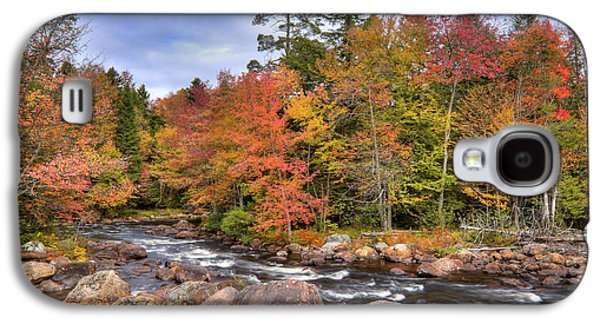 Galaxy S4 Case featuring the photograph The Rapids On The Moose River by David Patterson