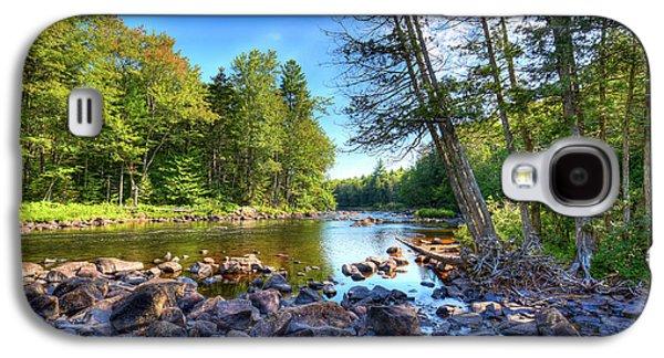 The Raquette River Galaxy S4 Case by David Patterson