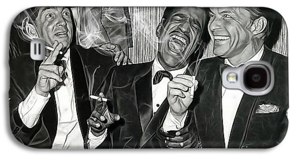 The Rat Pack Collection Galaxy S4 Case by Marvin Blaine