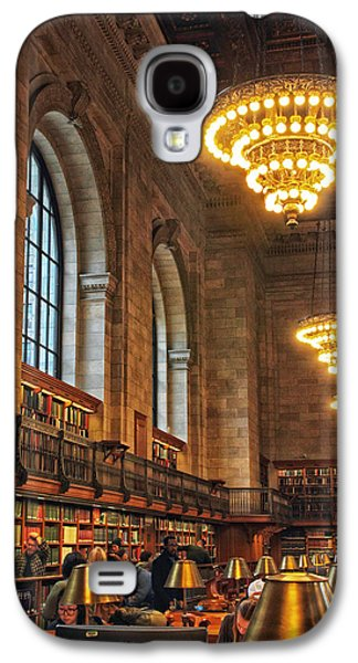 The Reading Room Galaxy S4 Case by Jessica Jenney