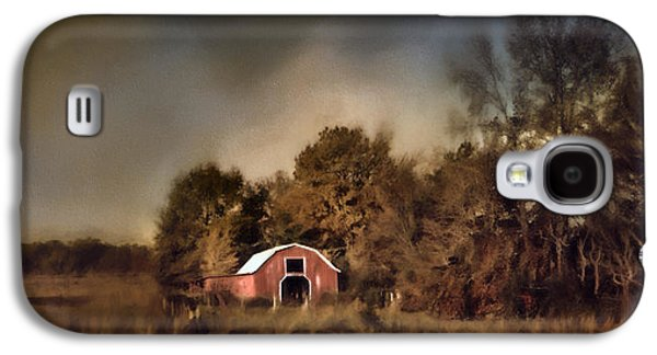 The Red Barn Welcomes Autumn Galaxy S4 Case by Jai Johnson