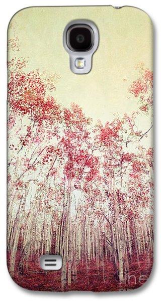 The Red Forest Galaxy S4 Case by Priska Wettstein