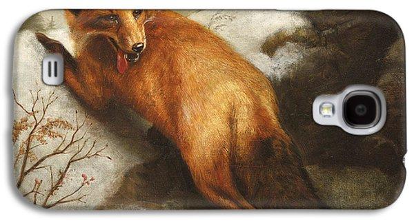 The Red Fox Galaxy S4 Case by Abbott Handerson Thayer