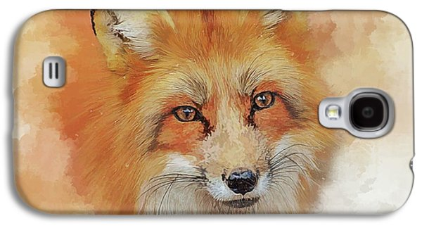 The Red Fox Galaxy S4 Case by Brian Tarr