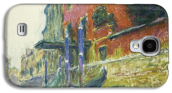 The Red House Galaxy S4 Case by Claude Monet