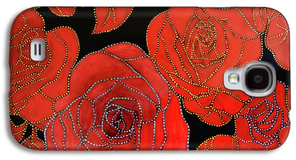 The Red Red Roses Galaxy S4 Case