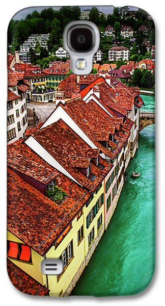 The Red Rooftops Of Bern Switzerland  Galaxy S4 Case