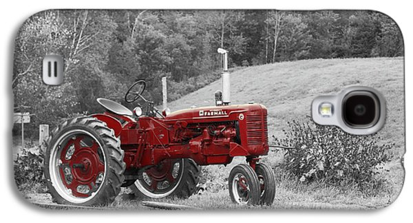 The Red Tractor Galaxy S4 Case