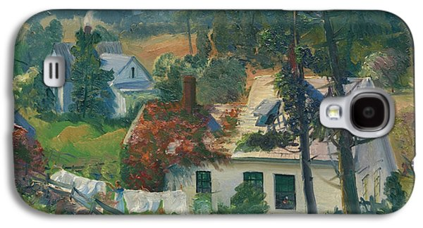 The Red Vine, Matinicus Island, Maine Galaxy S4 Case by George Bellows