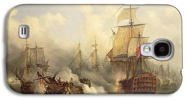 Boat Galaxy S4 Case - The Redoutable At Trafalgar by Auguste Etienne Francois Mayer