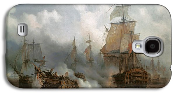 The Redoutable In The Battle Of Trafalgar, October 21, 1805 Galaxy S4 Case