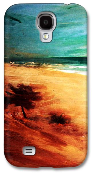 Galaxy S4 Case featuring the painting The Remaining Pine by Winsome Gunning