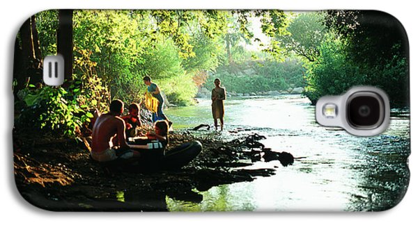 Galaxy S4 Case featuring the photograph The River by Dubi Roman