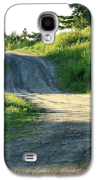 The Road Less Taken Galaxy S4 Case by Laurie Breton