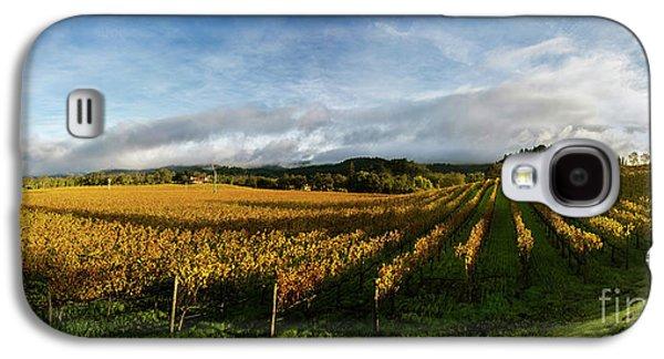 The Rolling Vineyards Of Napa  Galaxy S4 Case by Jon Neidert