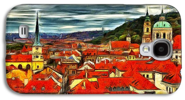 The Rooftops Of Prague  Galaxy S4 Case