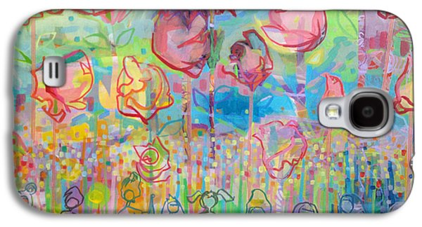 Rose Galaxy S4 Case - The Rose Garden, Love Wins by Kimberly Santini