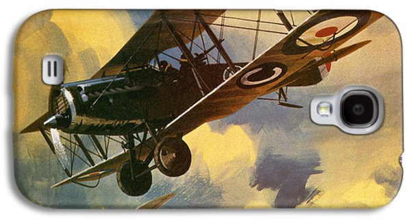 The Royal Flying Corps Galaxy S4 Case by Wilf Hardy