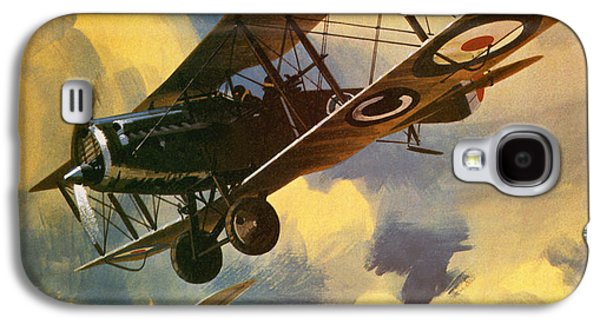 Airplane Galaxy S4 Case - The Royal Flying Corps by Wilf Hardy