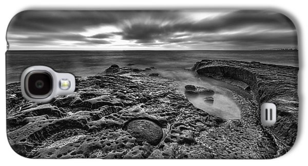 The Rugged California Coast - Black And White Galaxy S4 Case