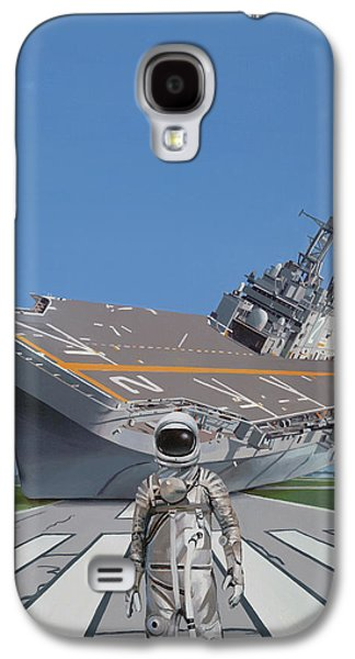 Galaxy S4 Case featuring the painting The Runway by Scott Listfield