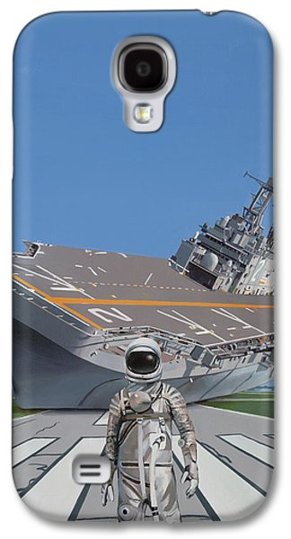 Science Fiction Galaxy S4 Case - The Runway by Scott Listfield