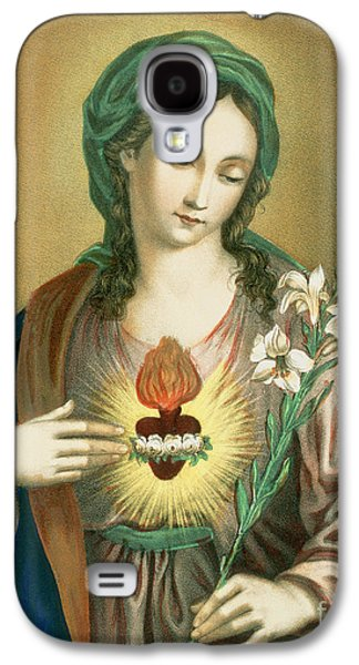 The Sacred Heart Of Mary Galaxy S4 Case by German School