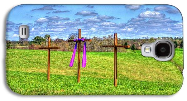 The Sacrifice Jesus Christ Remembered Christian Art Galaxy S4 Case by Reid Callaway