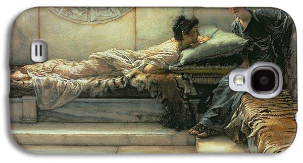The Secret Galaxy S4 Case by Sir Lawrence Alma-Tadema