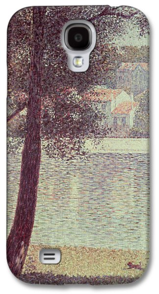 The Seine At Courbevoie Galaxy S4 Case by Georges Pierre Seurat