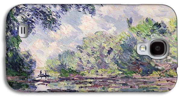 The Seine At Giverny Galaxy S4 Case by Claude Monet