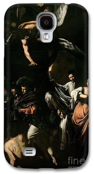The Seven Works Of Mercy Galaxy S4 Case by Caravaggio